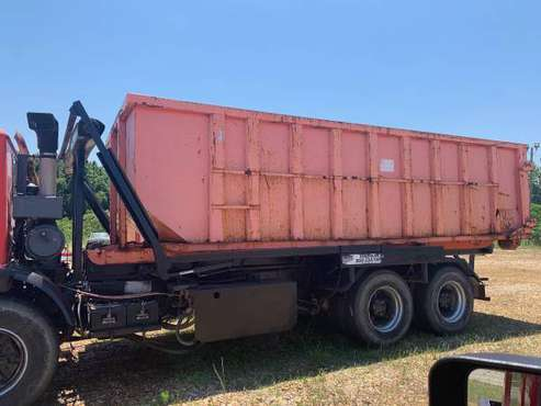 Mack Roll Off Container Truck with 5 cans and flatbed for sale in Forsyth, GA