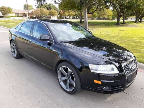 **2008 AUDI A6 S-LINE QUATTRO SPORT** for sale in Plano, TX