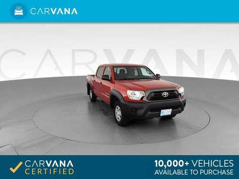 2015 Toyota Tacoma Double Cab Pickup 4D 5 ft pickup Black - FINANCE for sale in Memphis, TN