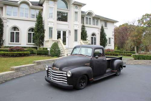 1947 CHEVY 3100 RAT ROD RARE 5 WINDOW MATTE/ORANGE SHOW PICKUP TRUCK for sale in Colts Neck, NJ