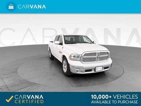 2017 Ram 1500 Crew Cab Laramie Pickup 4D 5 1/2 ft pickup White - for sale in Bakersfield, CA