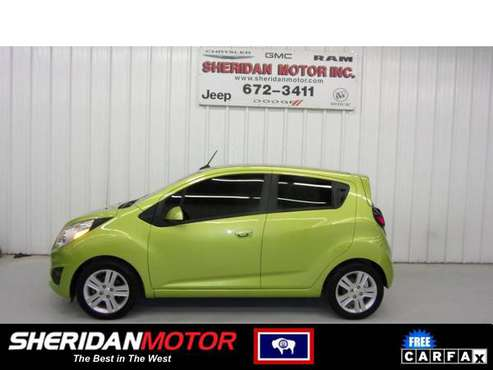2013 Chevrolet Spark LT Jalapeno - SM71630C **WE DELIVER TO MT & NO for sale in Sheridan, WY