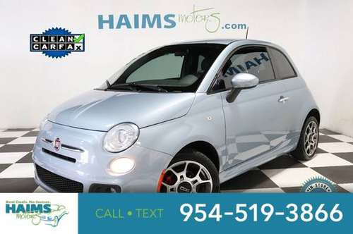 2014 FIAT 500 2dr Hatchback Sport for sale in Lauderdale Lakes, FL