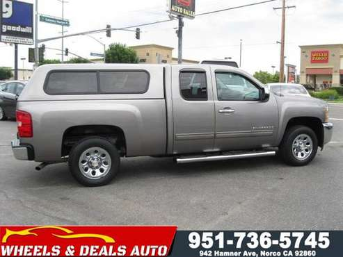 2013 Chevy Silverado Ext Cab for sale in Norco, CA