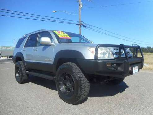 2003 TOYOTA 4 RUNNER LIMITED LIFTED WITH EXTRAS!! *LOOK*............. for sale in Anderson, CA