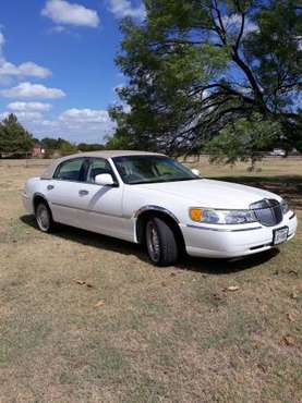 2001 Lincoln Town Car Cartier for sale in Fort Worth, TX