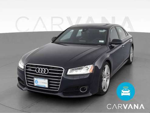 2016 Audi A8 L 4.0T Sport Sedan 4D sedan Blue - FINANCE ONLINE -... for sale in Atlanta, NV