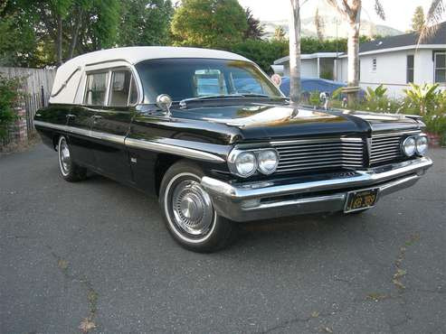 1962 Pontiac Hearse for sale in Novato, CA