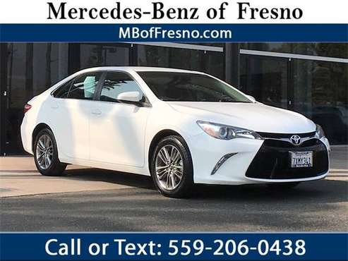2017 Toyota Camry SE - cars & trucks - by dealer - vehicle... for sale in Fresno, CA