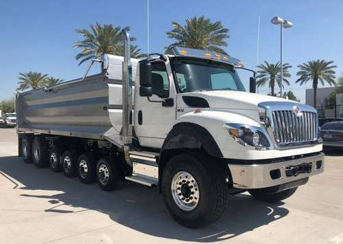NEW INTERNATIONAL HV613 SIMPLE 18 DUMP TRUCK for sale in phoenix, NM
