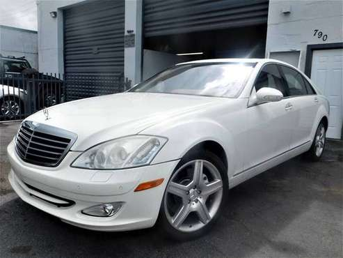 2008 MERCEDES BENZ S550 *BAD CREDIT NO PROBLEM* $1999 DOWN for sale in Fort Lauderdale, FL