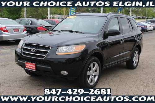 2008 *HYUNDAI**SANTA*FE*LIMITED 1OWNER LEATHER SUNROOF KEYLES 224142 for sale in Elgin, IL
