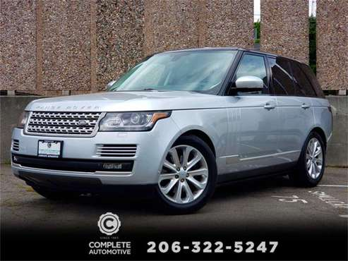 2015 Land Rover Range Rover for sale in Seattle, WA