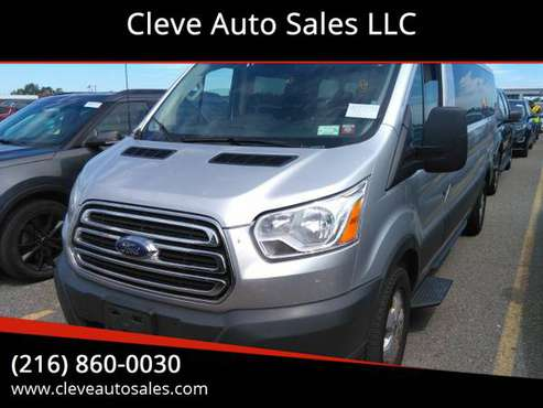 2018 Ford Transit 350 XLT 15 Passenger 52K Miles - cars & trucks -... for sale in South Euclid, OH