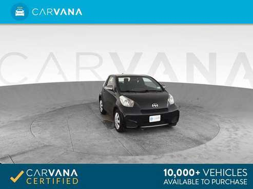 2012 Scion iQ Hatchback 2D hatchback Black - FINANCE ONLINE for sale in Atlanta, GA