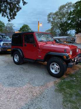 98 Jeep Wrangler sport 2 door - cars & trucks - by owner - vehicle... for sale in Merrick, NY