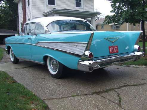 1957 Chevrolet Bel Air for sale in Cadillac, MI