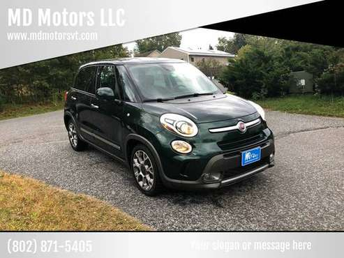2014 FIAT 500L....ONLY 32K MILES for sale in Williston, VT