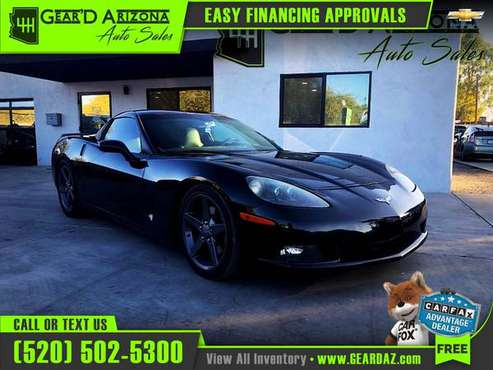 2008 Chevrolet CORVETTE for $20,499 or $316 per month! - cars &... for sale in Tucson, AZ