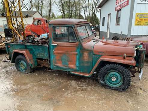 1952 Willys-Overland Jeepster for sale in Cadillac, MI