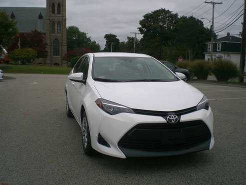 2018 Toyota Corolla LE, Auto, 11K. Inventory Sales! Price Reduced!!! for sale in dedham, MA