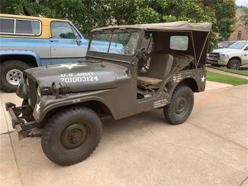 1954 Willys M38A1 for sale in Cadillac, MI