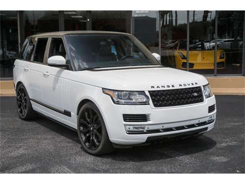2014 Land Rover Range Rover for sale in Miami, FL