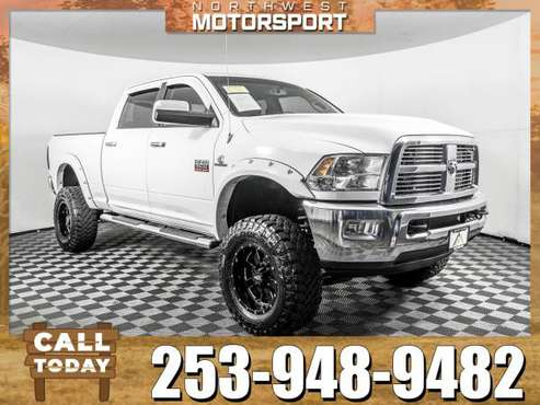 *DIESEL DISEL* Lifted 2012 *Dodge Ram* 3500 Laramie 4x4 for sale in PUYALLUP, WA