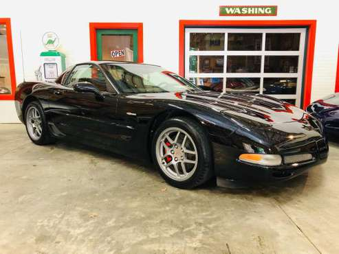 2001 Chevrolet Corvette Z06, LOW 52k Miles, Black/Mod-Red - cars &... for sale in Seneca, SC
