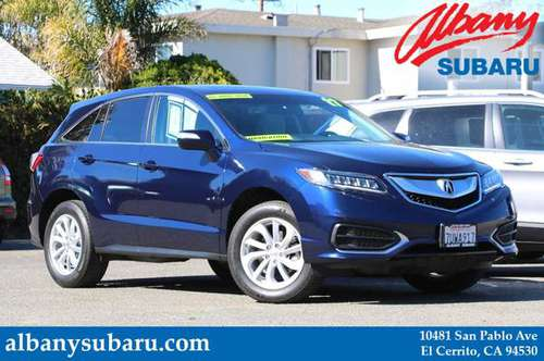 2017 Acura RDX Fathom Blue Pearl BIG SAVINGS! for sale in El Cerrito, CA