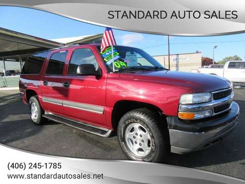 2004 Chevy Suburban LT 4X4 Sunroof Nice!!! for sale in Billings, ND