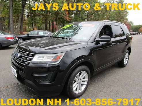 2016 FORD EXPLORER 4X4 3RD SEAT LOADED WITH CERTIFIED WARRANTY -... for sale in Loudon, NH
