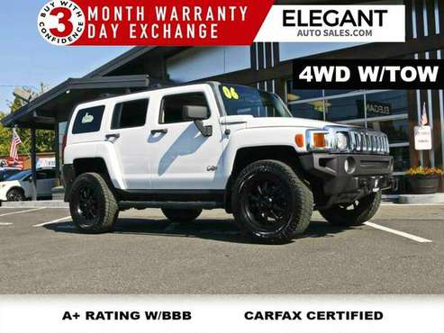 2006 HUMMER H3 super clean 4x4 4WD nice wheels SUV for sale in Beaverton, OR