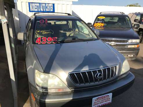 2001 LEXUS RX-300, 154k Miles, V-6, Excellent Condition.. for sale in Modesto, CA