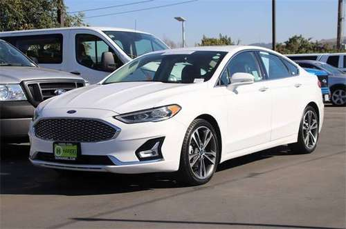 2019 Ford Fusion Titanium - CERTIFIED - cars & trucks - by dealer -... for sale in Santa Rosa, CA