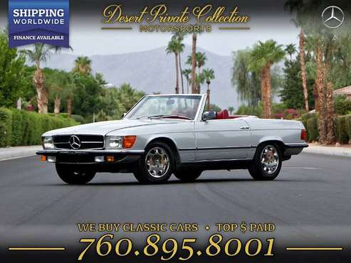 This 1979 Mercedes-Benz 280SL w107 Euro Model Sedan is PRICED TO SELL! for sale in Palm Desert , CA