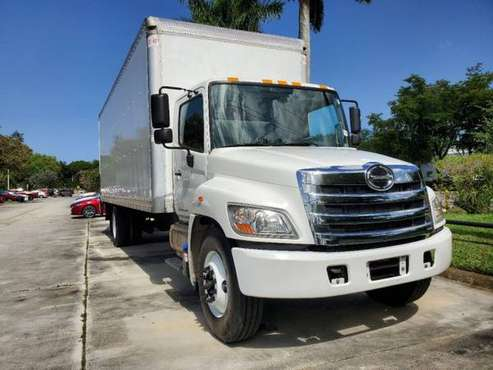 2017 Hino Truck Single Cab, Dry Freight only 102K Miles for sale in Pompano Beach, FL