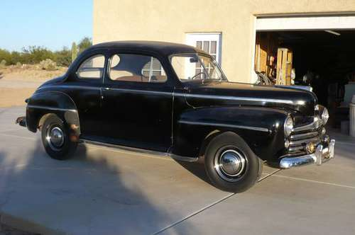 1947 FORD SUPER DELUXE V-8 COUPE for sale in Tucson, AZ