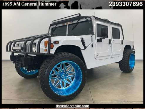 1995 AM General Hummer 4dr Open Top Hard Doors with Dual black... for sale in Naples, FL