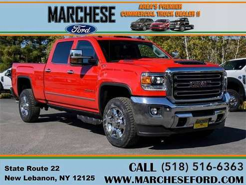 2019 GMC Sierra 2500HD SLT 4x4 4dr Crew Cab SB - truck for sale in New Lebanon, NY