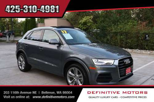 2017 Audi Q3 2.0T quattro Premium Plus * AVAILABLE IN STOCK! * SALE! * for sale in Bellevue, WA