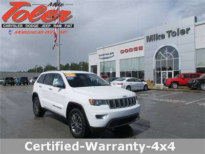 2017 Jeep Grand Cherokee Limited-Certified-Warranty-4x4(Stk#p2609) for sale in Morehead City, NC