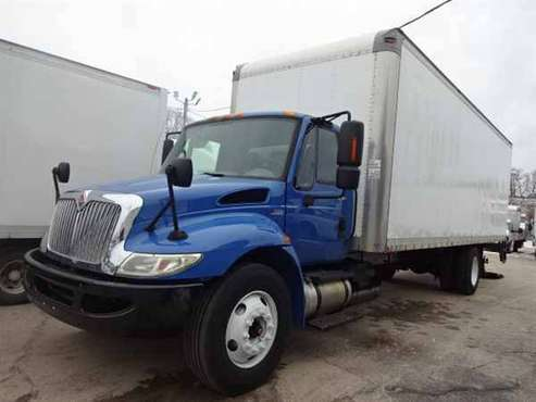 2012 International 4300 26' Box Truck w/ Aluminum Liftgate #4561 for sale in East Providence, RI