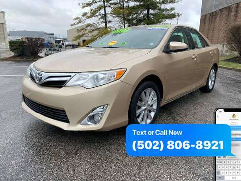 2012 Toyota Camry XLE 4dr Sedan EaSy ApPrOvAl Credit Specialist -... for sale in Louisville, KY