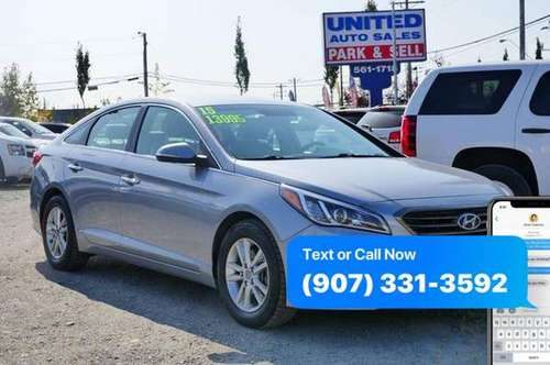 2015 Hyundai Sonata Eco 4dr Sedan / EASY FINANCING AVAILABLE! for sale in Anchorage, AK