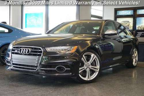 2014 Audi S6 AWD All Wheel Drive 4.0T quattro Sedan for sale in Lynnwood, WA
