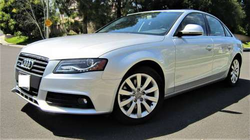 2009 AUDI A4 2.0 TURBO AWD (AWD QUATTRO, PREMIUM PLUS, MINT) for sale in Westlake Village, CA