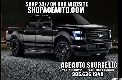 BEST DEALS ON TRUCKS HERE!__LOOK HERE! www.SHOPACEAUTO.com for sale in Houma, LA