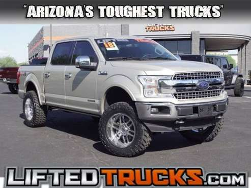 2018 Ford f-150 f150 f 150 LARIAT 4WD SUPERCREW 5.5 4x4 Passenger for sale in Glendale, AZ