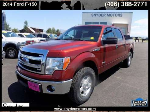2014 Ford F-150, 1 OWNER, 3.5L ECOBOOST, 4X4, NEW TIRES, 87K for sale in Belgrade, MT
